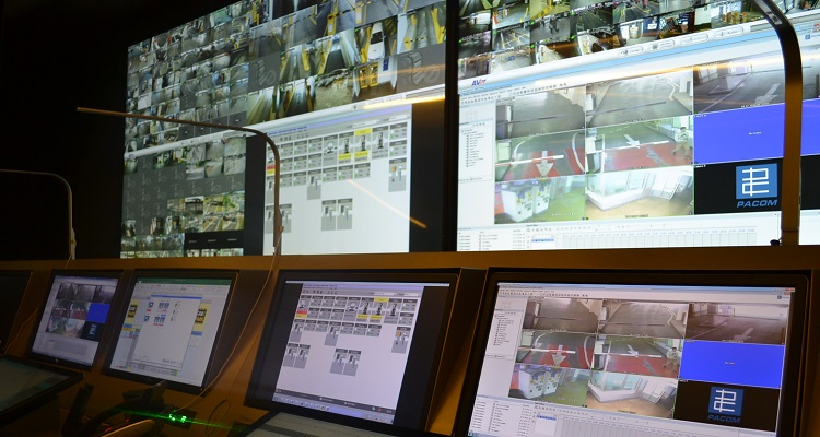 Care Park's control room window to better parking management