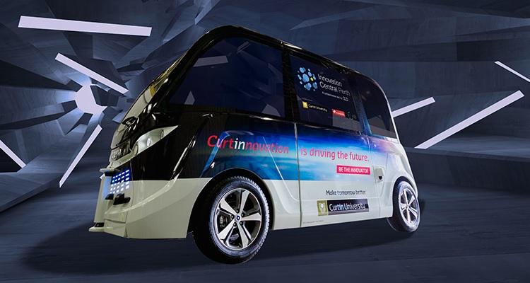 Curtin University introduces driverless bus service