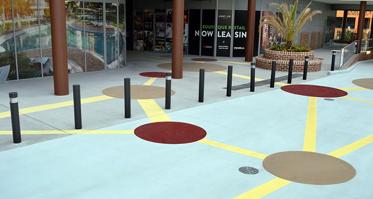 Brisbane's West End Precinct Gets Creative with its Car Park Flooring