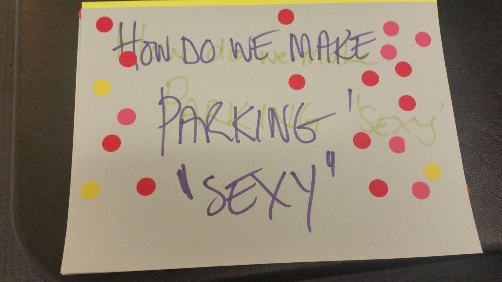 How to make parking sexy