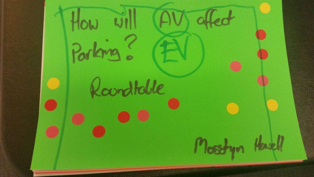 How wil AV affect parking?