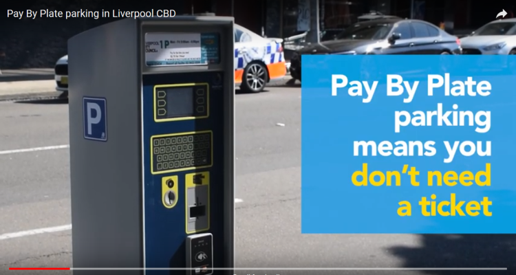 Pay By Plate parking introduced in Liverpool CBD