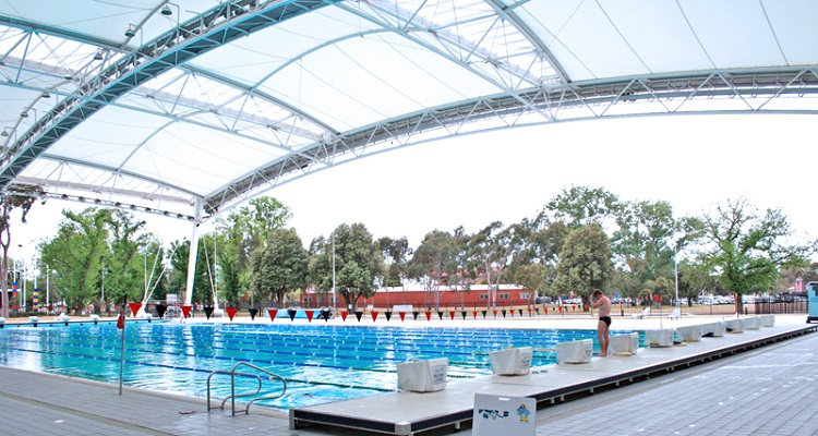 The leisure experience starts when you drive in at  Melbourne Sports and Aquatic Centre