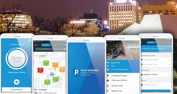 Smart Parking comes to Adelaide with the Park Adelaide App