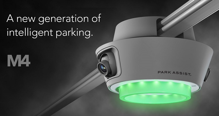 University of Texas Chooses Park Assist's M4 Smart-Sensor Parking Guidance System