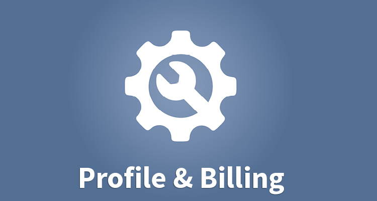 Member profile and billing