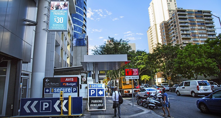 Secure Parking goes digital with new signage for Brisbane car parks
