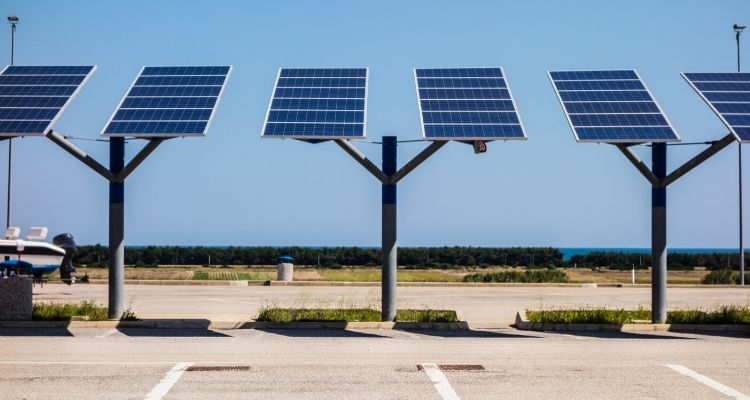 Using Solar and EV to achieve renewable energy targets in parking