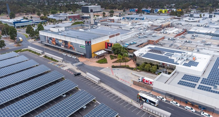Vicinity completes Australia's largest solar car park installation