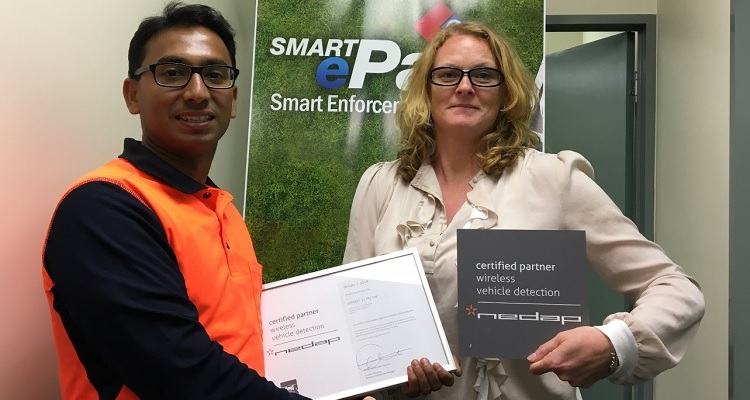 eSMART21 partners with Nedap to provide wireless vehicle detection