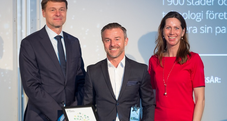 "EasyPark receives the Award ""Best Managed Companies"" by Deloitte"