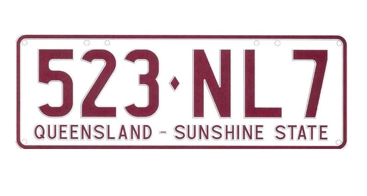 Change Coming to Queensland Number Plates